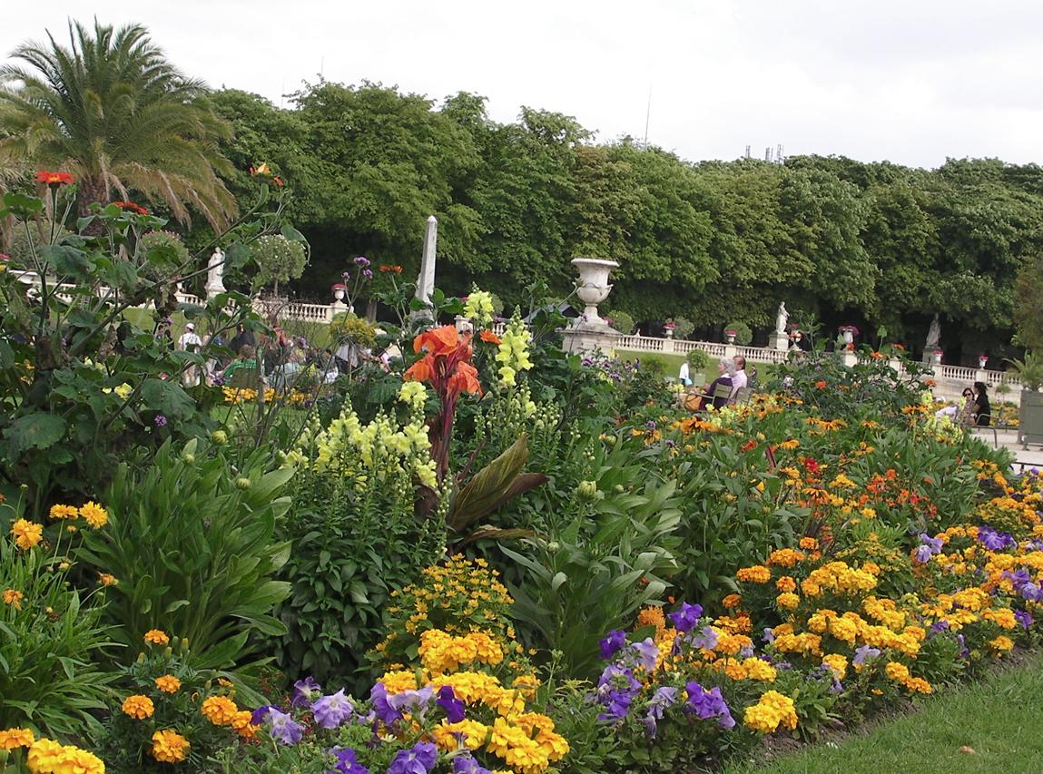 Luxembourgparken juni 2011.